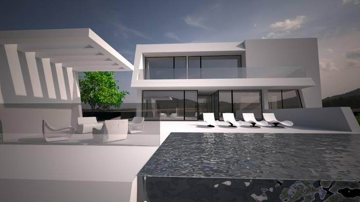 Sintra – SRF # Lote 17: Moradias  por Andreia Anjos - Arquitectura, Design e Construção