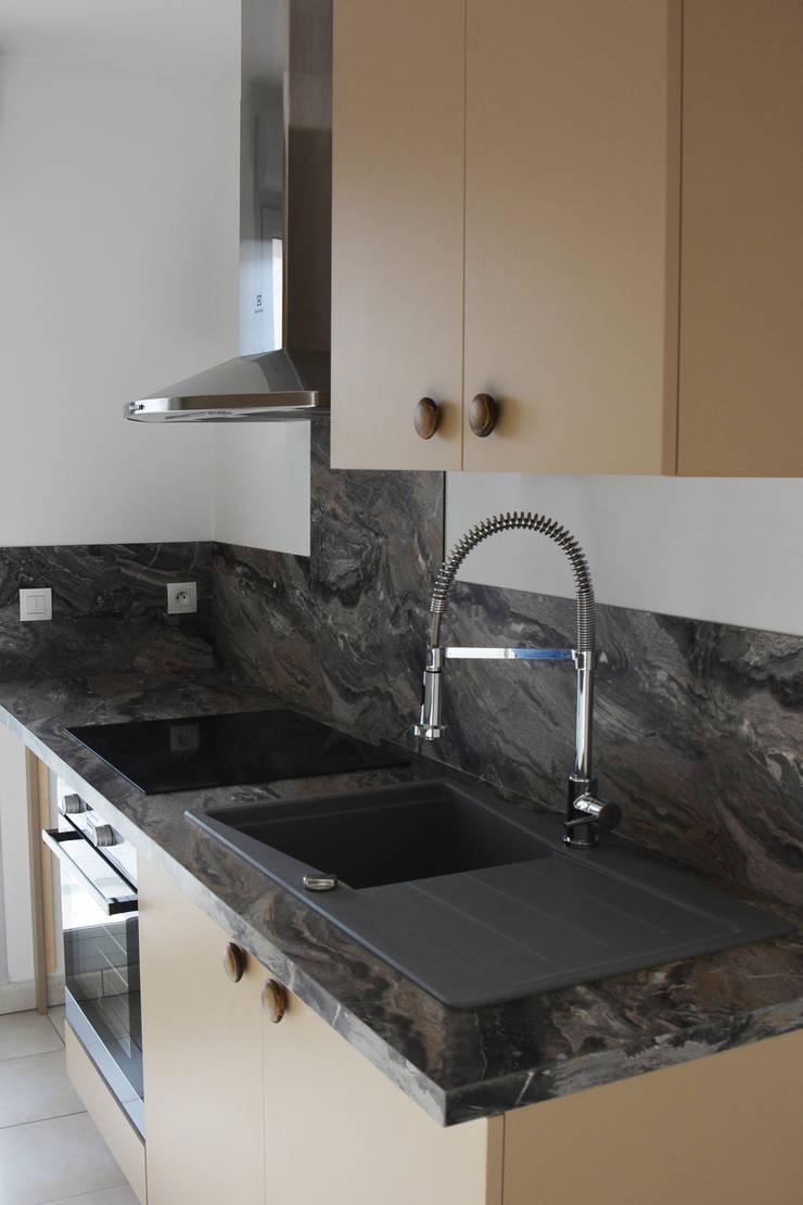 Aménagement d\'une petite cuisine à Lyon von Koya Architecture ...