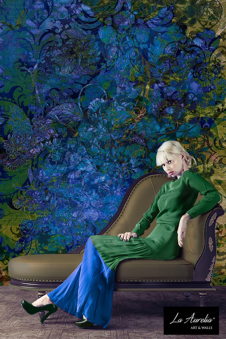 Divine - Classy Wallpaper by La Aurelia From the 'Prestige' Collection:   door La Aurelia , Eclectisch