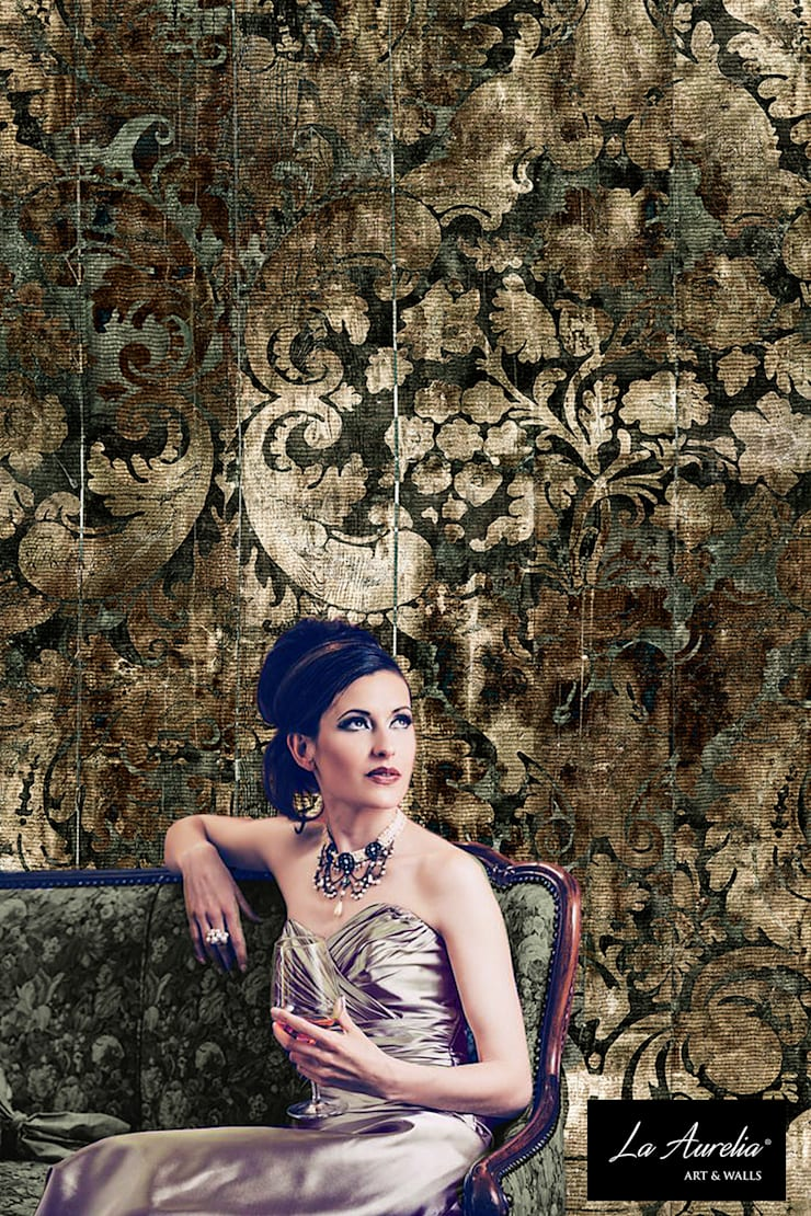 Fancy - Classy Wallpaper by La Aurelia From the 'Prestige' Collection:  Muren & vloeren door La Aurelia