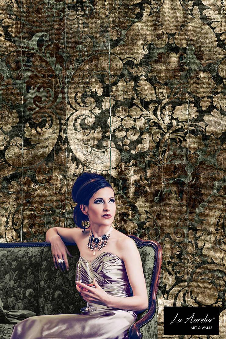 Fancy - Classy Wallpaper by La Aurelia From the 'Prestige' Collection:   door La Aurelia , Eclectisch
