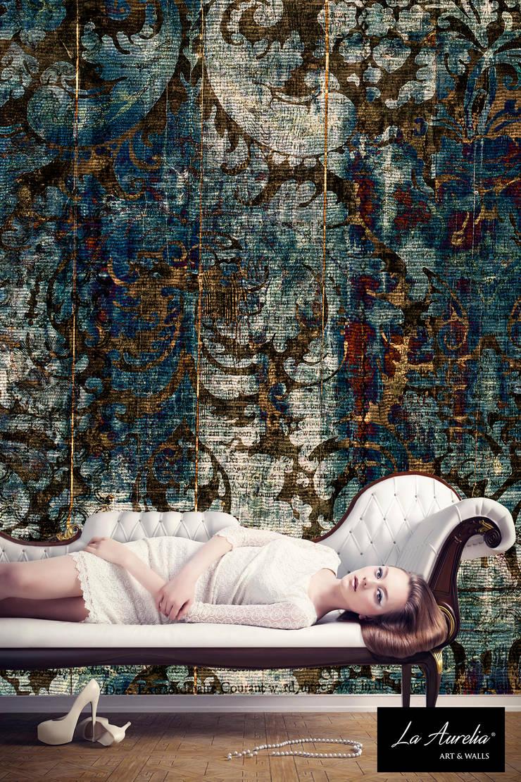 Favour - Classy Wallpaper by La Aurelia From the 'Prestige' Collection:   door La Aurelia , Eclectisch