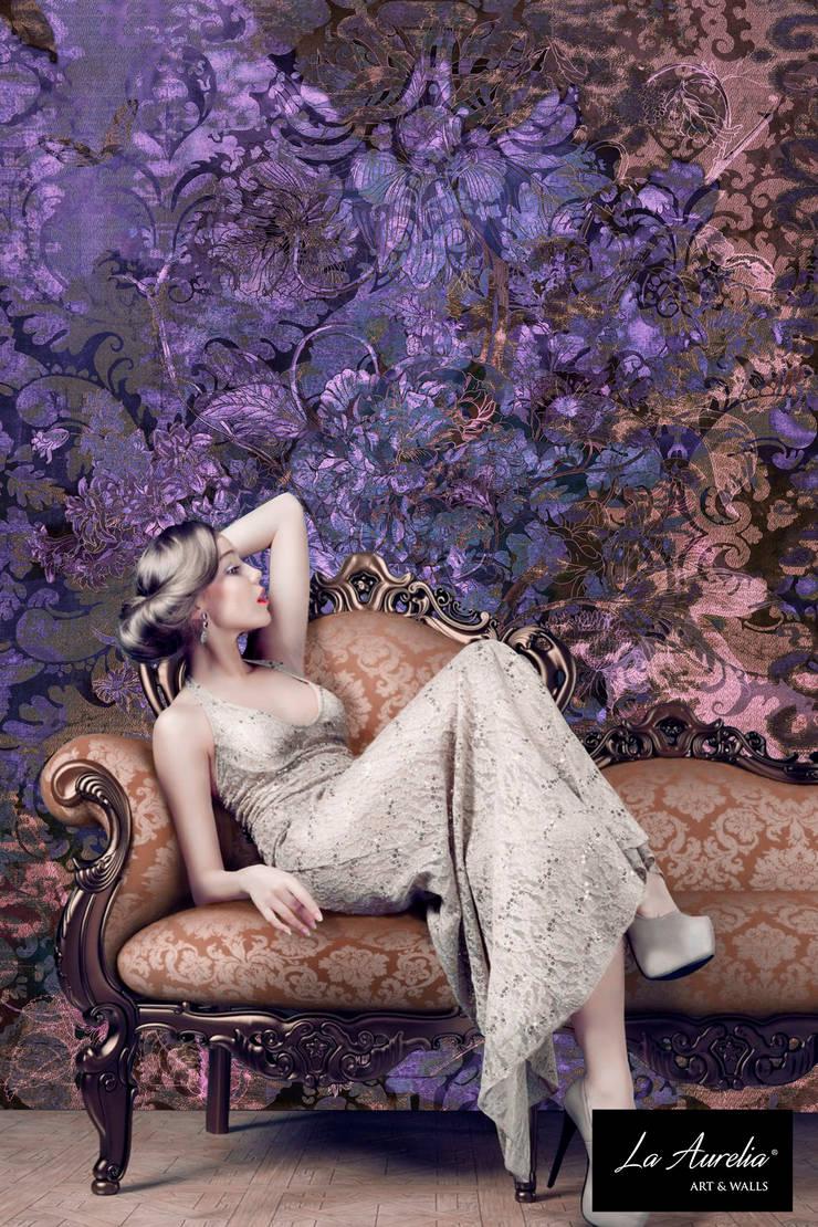 Glamour - Classy Wallpaper by La Aurelia From the 'Prestige' Collection:   door La Aurelia , Eclectisch