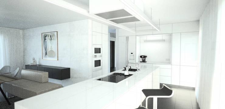 Visualisierung Küche:   von habes-architektur