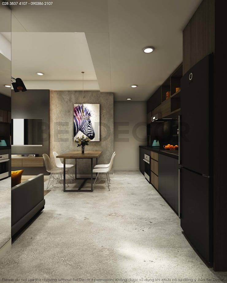 Project: HO1684  Apartment/ Bel Decor:   by Bel Decor