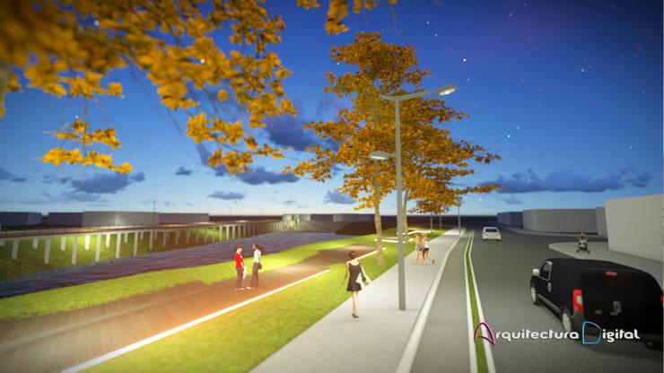Masterplan Desarrollo Urbanístico Parque Napostá :  de estilo  por Arquitectura Digital Renderizados
