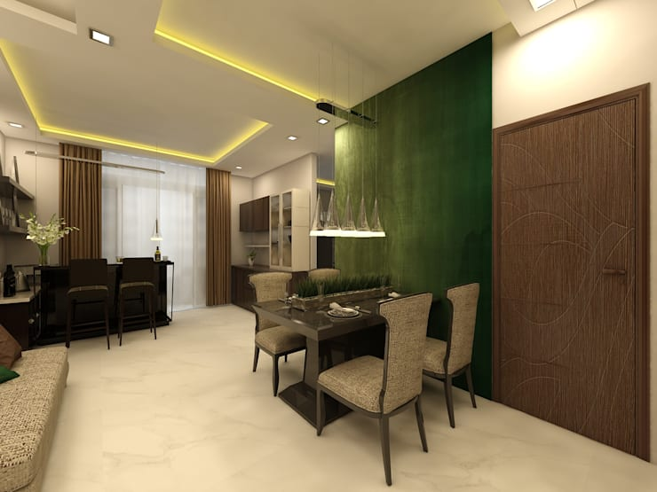 Dining: modern Dining room by Regalias India Interiors & Infrastructure