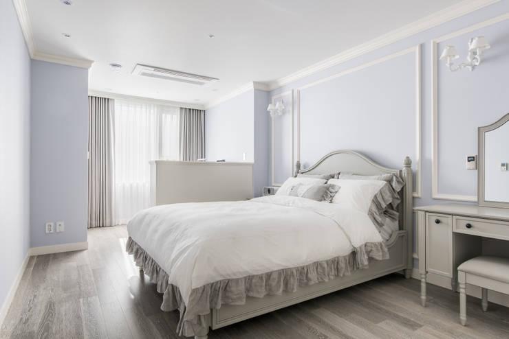 غرفة نوم تنفيذ wid design 위드디자인