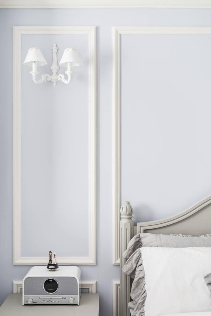 목동 하이페리온 183㎡ 56PY: wid design 위드디자인의  침실,