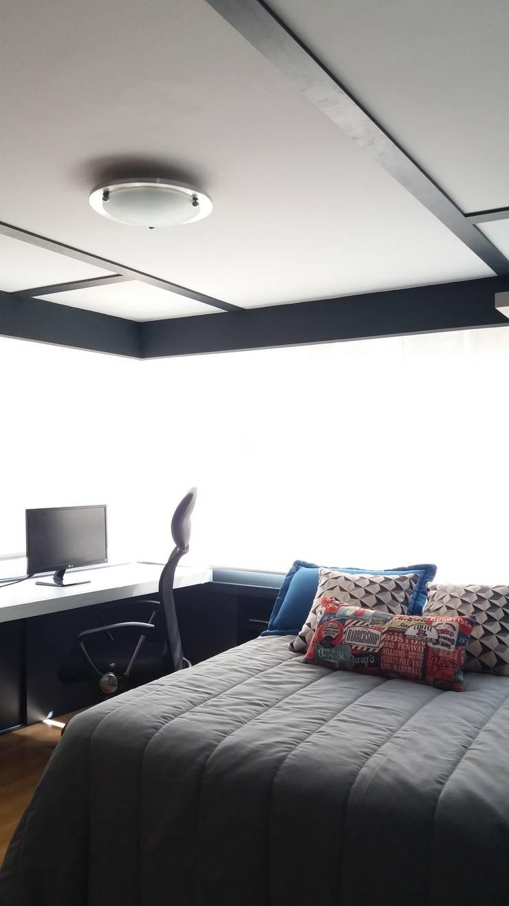 Habitación juvenil: Dormitorios de estilo  por TICKTO STUDIO