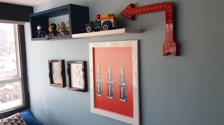 Decoración: Dormitorios de estilo  por TICKTO STUDIO