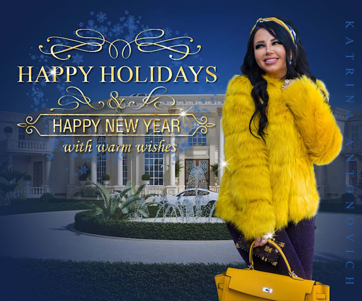 HAPPY NEW YEAR! With best wishes from Katrina Antonovich and Luxury Antonovich Design !:  Houses by Luxury Antonovich Design, Eclectic