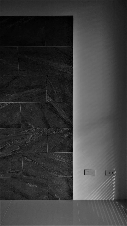 Natural Modern || wood lines北歐的木趨線:  客廳 by 喬克諾空間設計