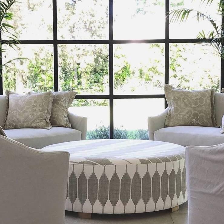 CASA TORTUGAS CC - JARDIN DE INVIERNO: Jardines de invierno de estilo  por Estudio Dillon Terzaghi Arquitectura - Pilar,Clásico Hierro/Acero