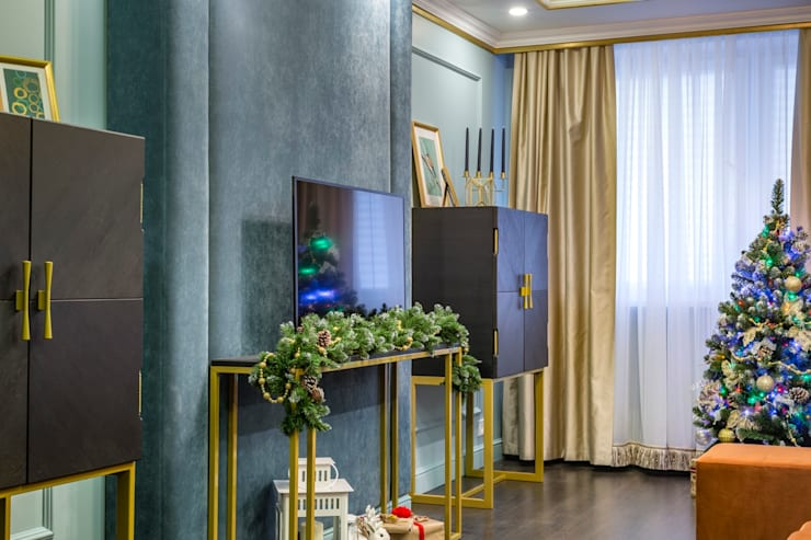 Living room by Школа Ремонта, Classic