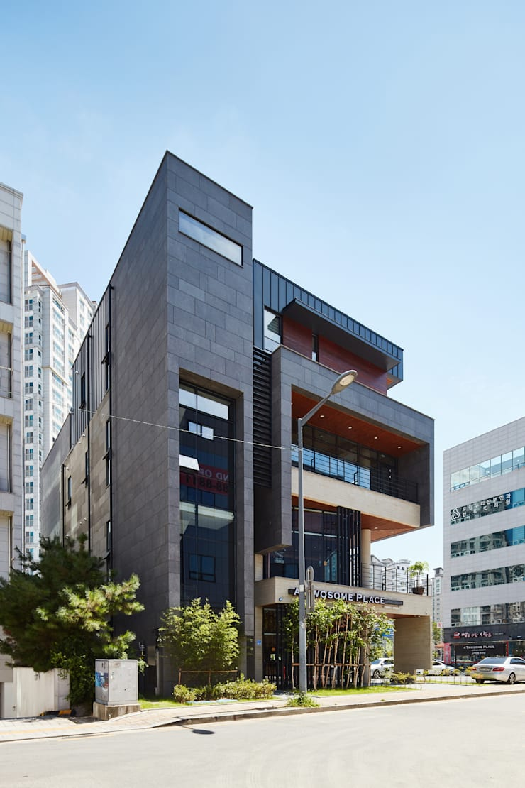 de style  par 건축사 사무소 YEHA, Moderne
