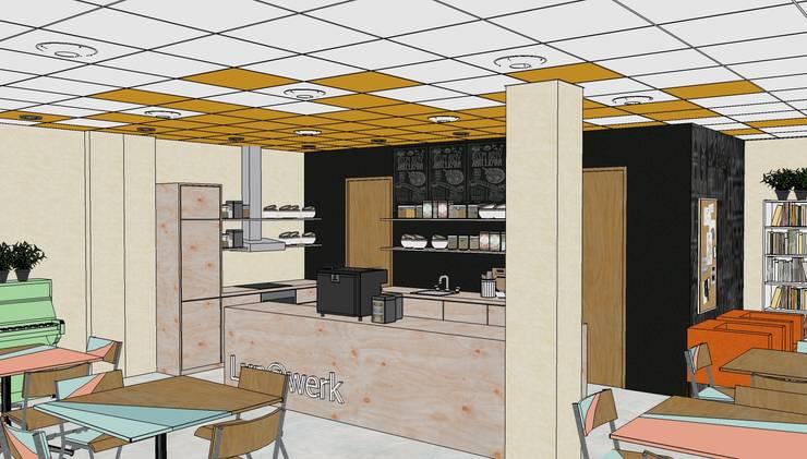 3D model Lunet werkcafé:   door Sterre Troostheide