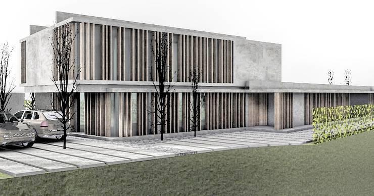 CASA IN: Casas unifamiliares de estilo  por FAARQ - Facundo Arana Arquitecto & asoc.,