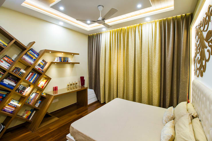 Study tabe:  Bedroom by NVT Quality Build solution
