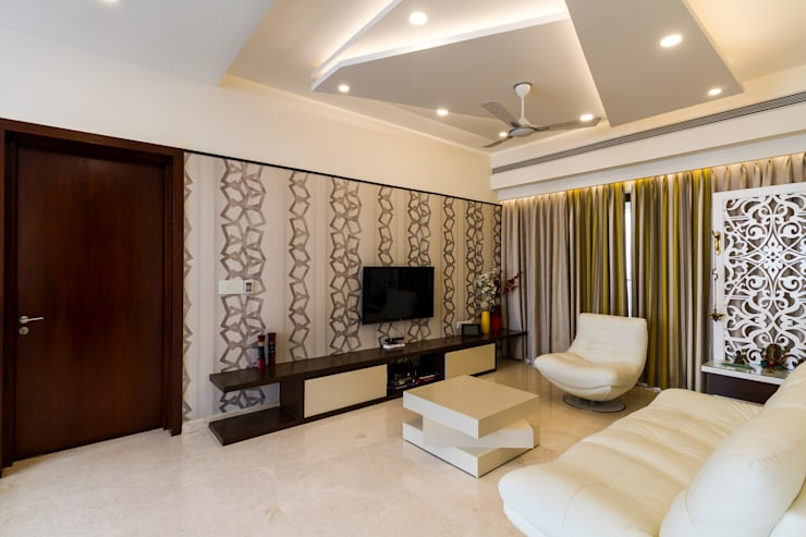 Family area :  Media room by NVT Quality Build solution