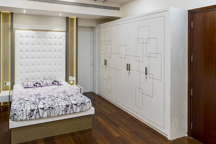Wardrobe :  Dressing room by NVT Quality Build solution
