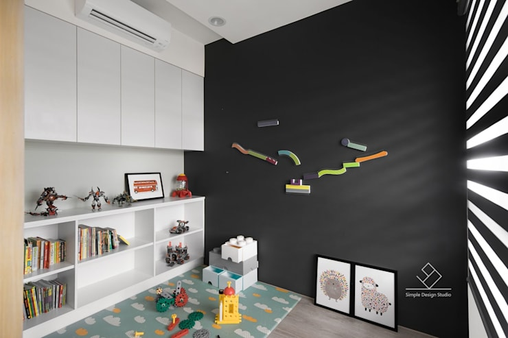 Kamar Bayi & Anak by 極簡室內設計 Simple Design Studio