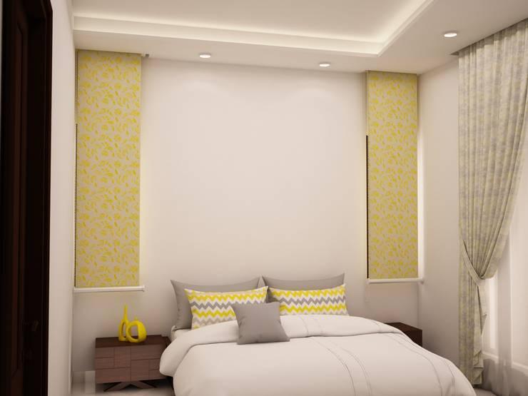 Head side design :  Bedroom by NVT Quality Build solution