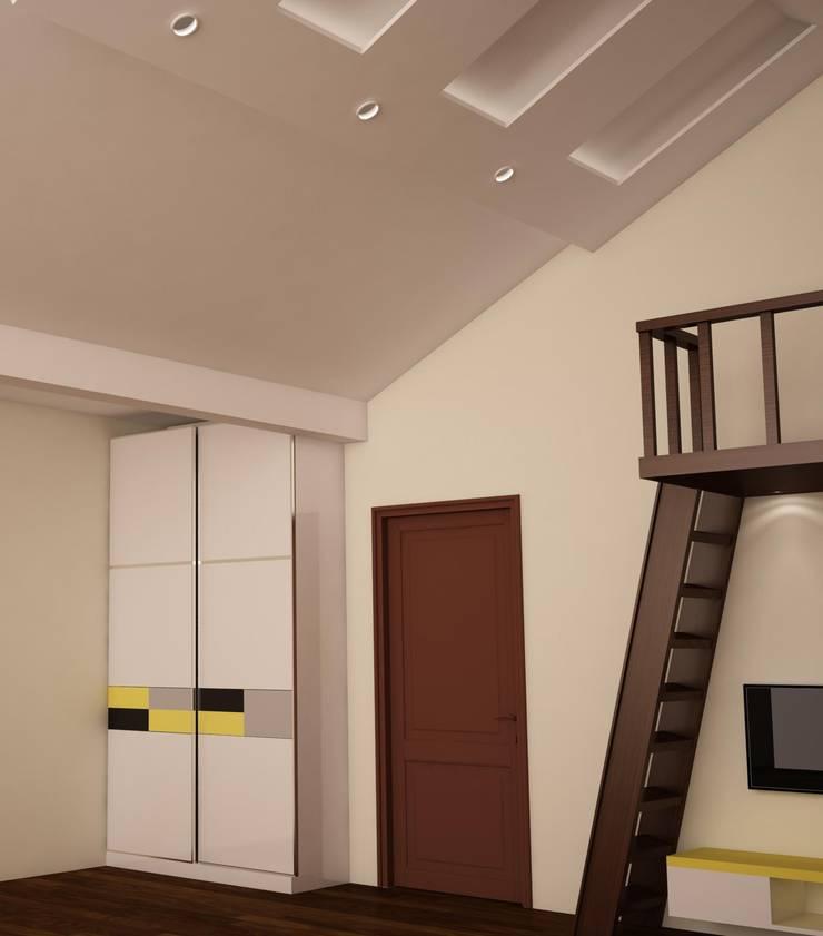 Wardrobe : rustic Nursery/kid's room by NVT Quality Build solution