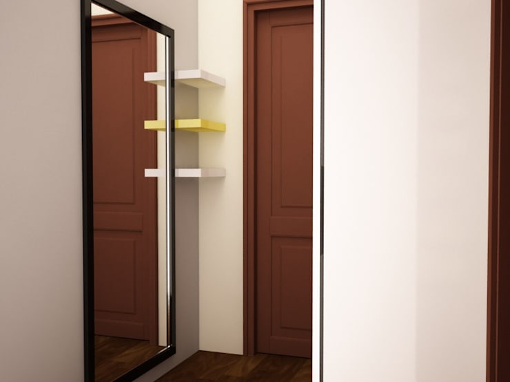 Kids dressing area: rustic Dressing room by NVT Quality Build solution