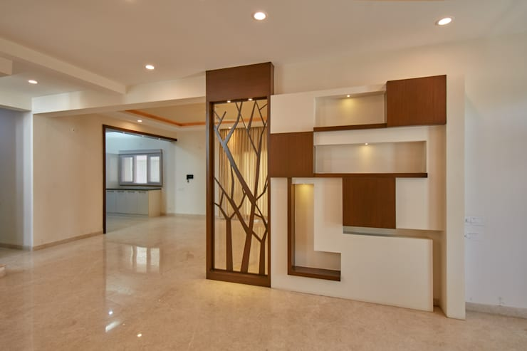 Hall area partition :  Corridor & hallway by NVT Quality Build solution