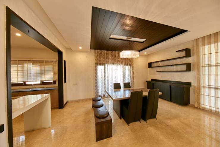 hall room:  Living room by NVT Quality Build solution