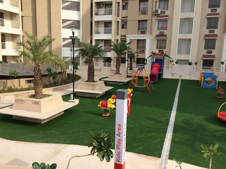 Kids play area: modern Garden by NMP Design