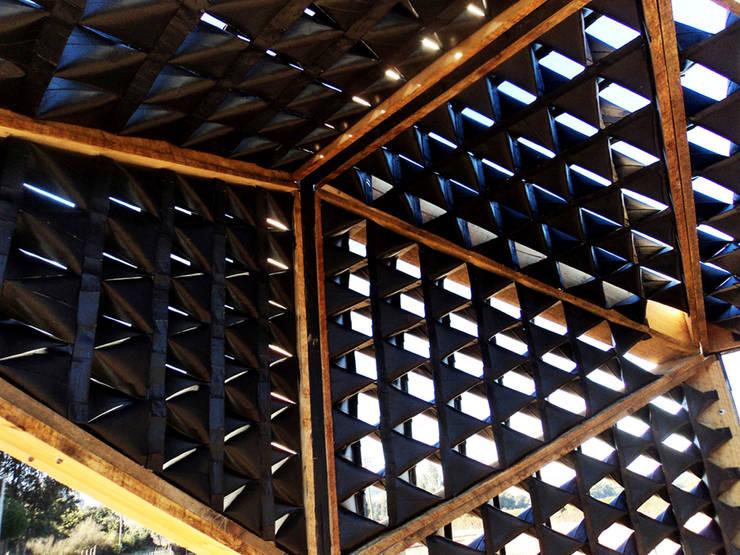 Portal de Boyeruca. Rincón de Boyeruca: Jardín de estilo  por Tetralux Arquitectos