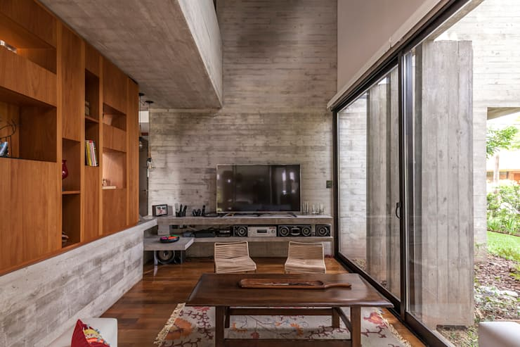 視聽室 by Besonías Almeida arquitectos