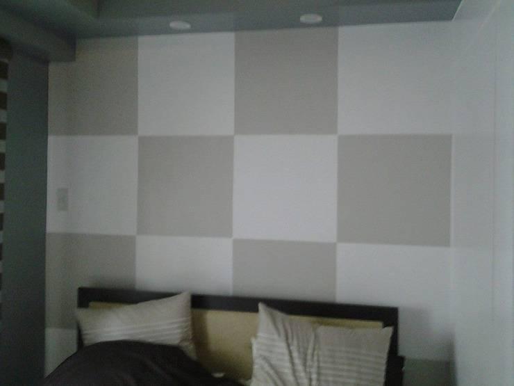 Grand Midori-Makati:  Bedroom by marcdeco