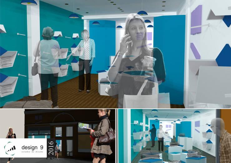 Ladenflächen von design 9 estudio, Modern