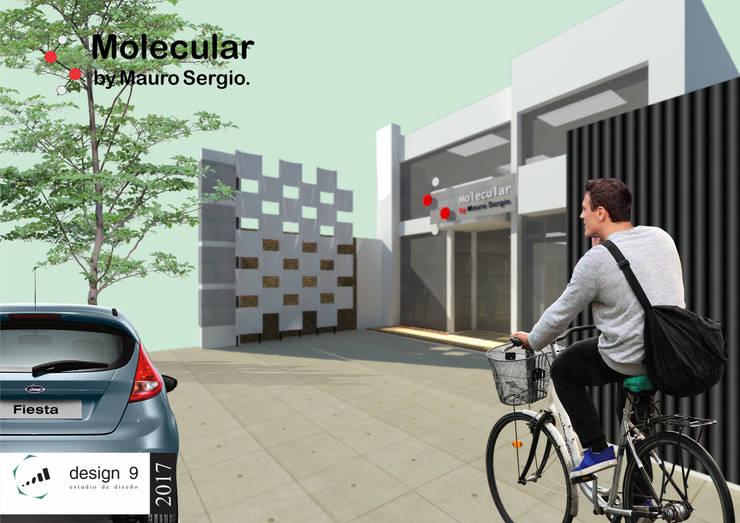 Año 2017 – Trabajo de Diseño - Local comercial Mauro Sergio.: Galerías y espacios comerciales de estilo  por design 9 estudio,