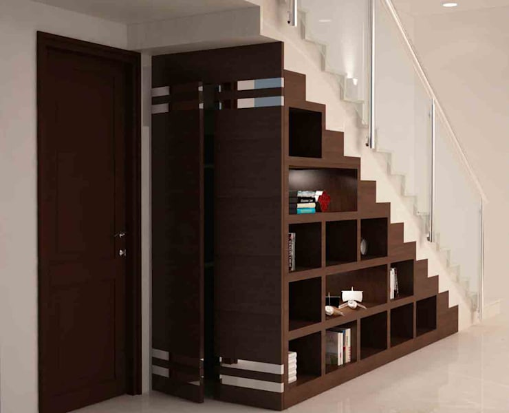 multiple storage :  Stairs by NVT Quality Build solution