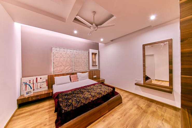 Bedroom 1: modern Bedroom by NVT Quality Build solution