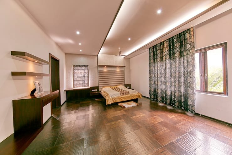 Bedroom:  Bedroom by NVT Quality Build solution