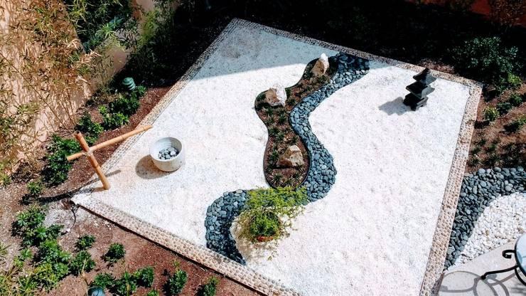 Zen-tuin door David Araiza Pérez DAP Diseño,  Arquitectura  y Paisaje