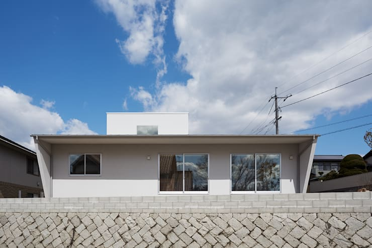 Houses by toki Architect design office, Modern Wood Wood effect