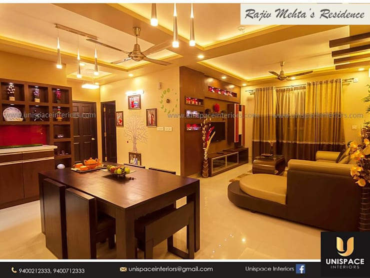 """CONTEMPORARY INTERIORS BUNGALOW -RESIDENCE-APARTMENT- VILLA INTERIOR-DINING ROOM: {:asian=>""""asian"""", :classic=>""""classic"""", :colonial=>""""colonial"""", :country=>""""country"""", :eclectic=>""""eclectic"""", :industrial=>""""industrial"""", :mediterranean=>""""mediterranean"""", :minimalist=>""""minimalist"""", :modern=>""""modern"""", :rustic=>""""rustic"""", :scandinavian=>""""scandinavian"""", :tropical=>""""tropical""""}  by UNISPACE INTERIOR,"""