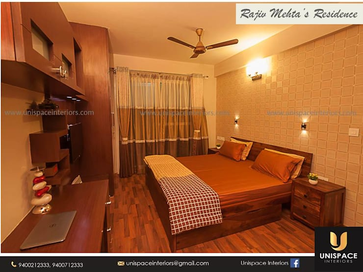"""CONTEMPORARY INTERIORS BUNGALOW -RESIDENCE-APARTMENT- VILLA INTERIOR-BEDROOM: {:asian=>""""asian"""", :classic=>""""classic"""", :colonial=>""""colonial"""", :country=>""""country"""", :eclectic=>""""eclectic"""", :industrial=>""""industrial"""", :mediterranean=>""""mediterranean"""", :minimalist=>""""minimalist"""", :modern=>""""modern"""", :rustic=>""""rustic"""", :scandinavian=>""""scandinavian"""", :tropical=>""""tropical""""}  by UNISPACE INTERIOR,"""