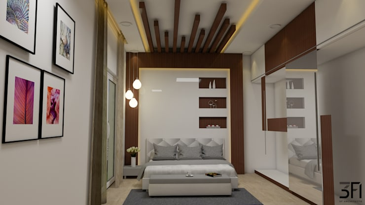 Project:  Living room by 3F Architects,Modern