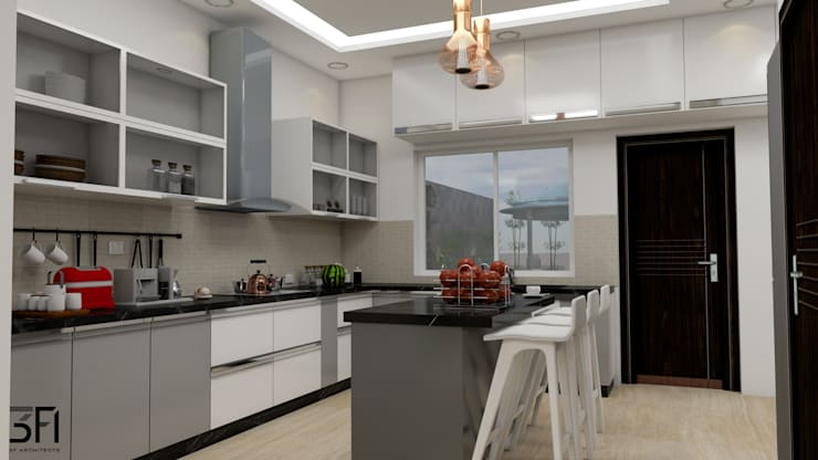 Project:  Kitchen by 3F Architects,Modern