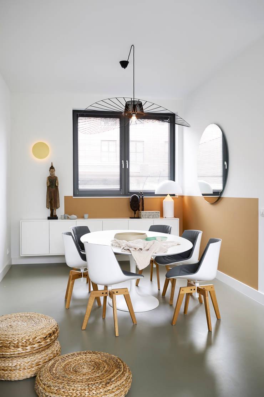 Woonhuis Amsterdam:  Eetkamer door Baden Baden Interior