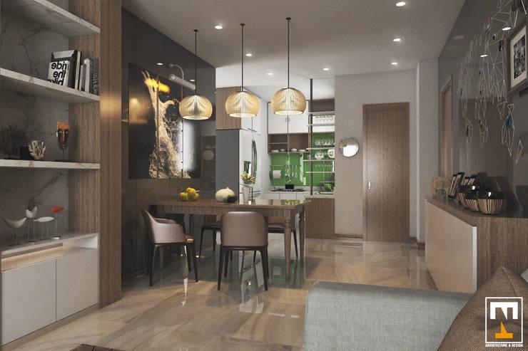 INTERIOR HAKA BOUTIQUE:  Phòng ăn by NT.DESIGN