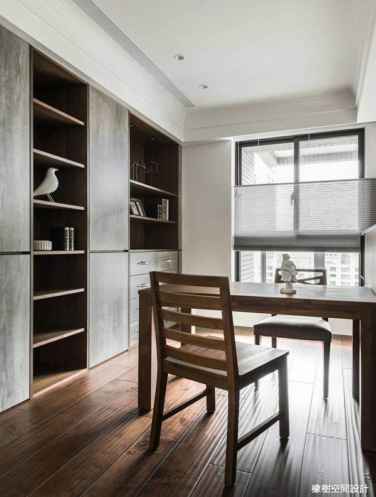 高雄 李宅:  書房/辦公室 by 橡樹設計Oak Design