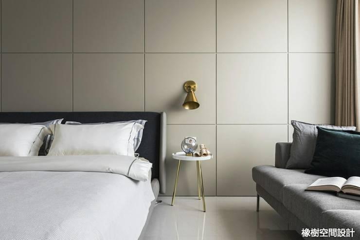 高雄 李宅:  臥室 by 橡樹設計Oak Design